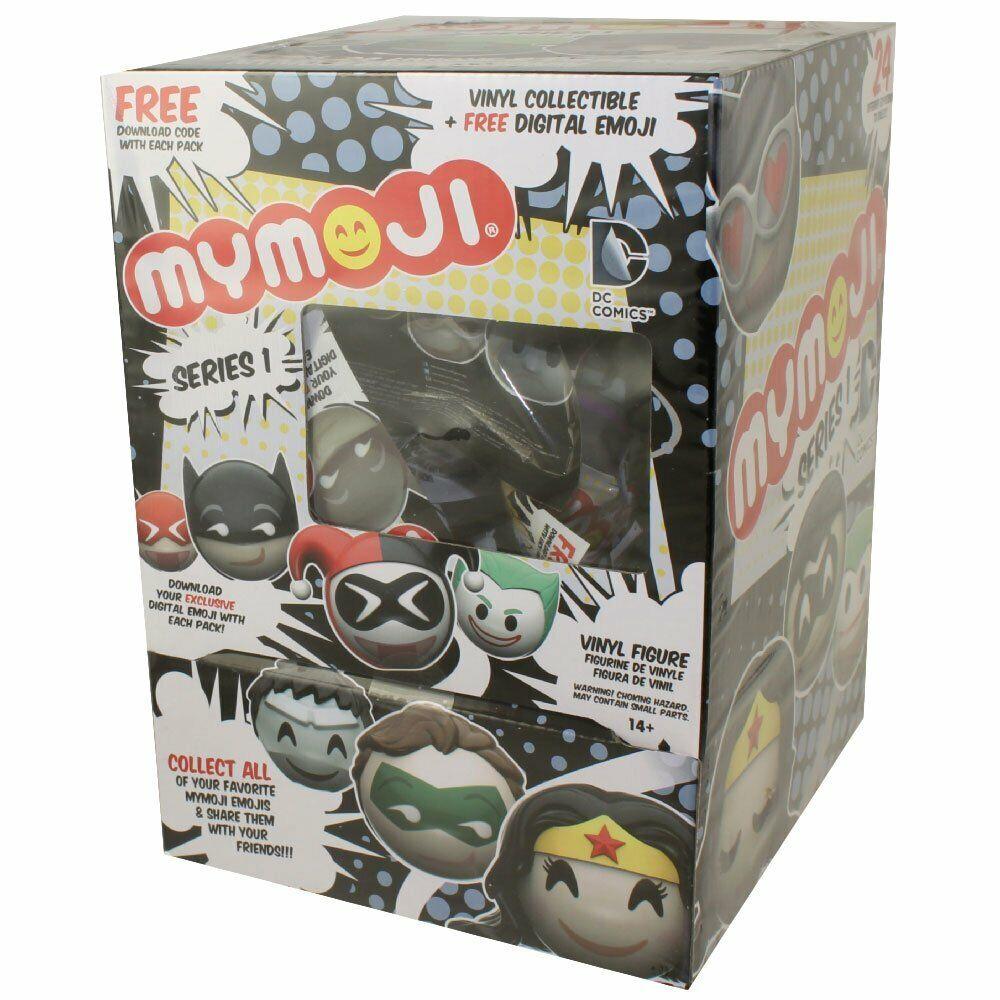 24 x Funko MyMoji - DC Comics Emoticons Faces - - - Full CDU (24 Blind Packs) 89d