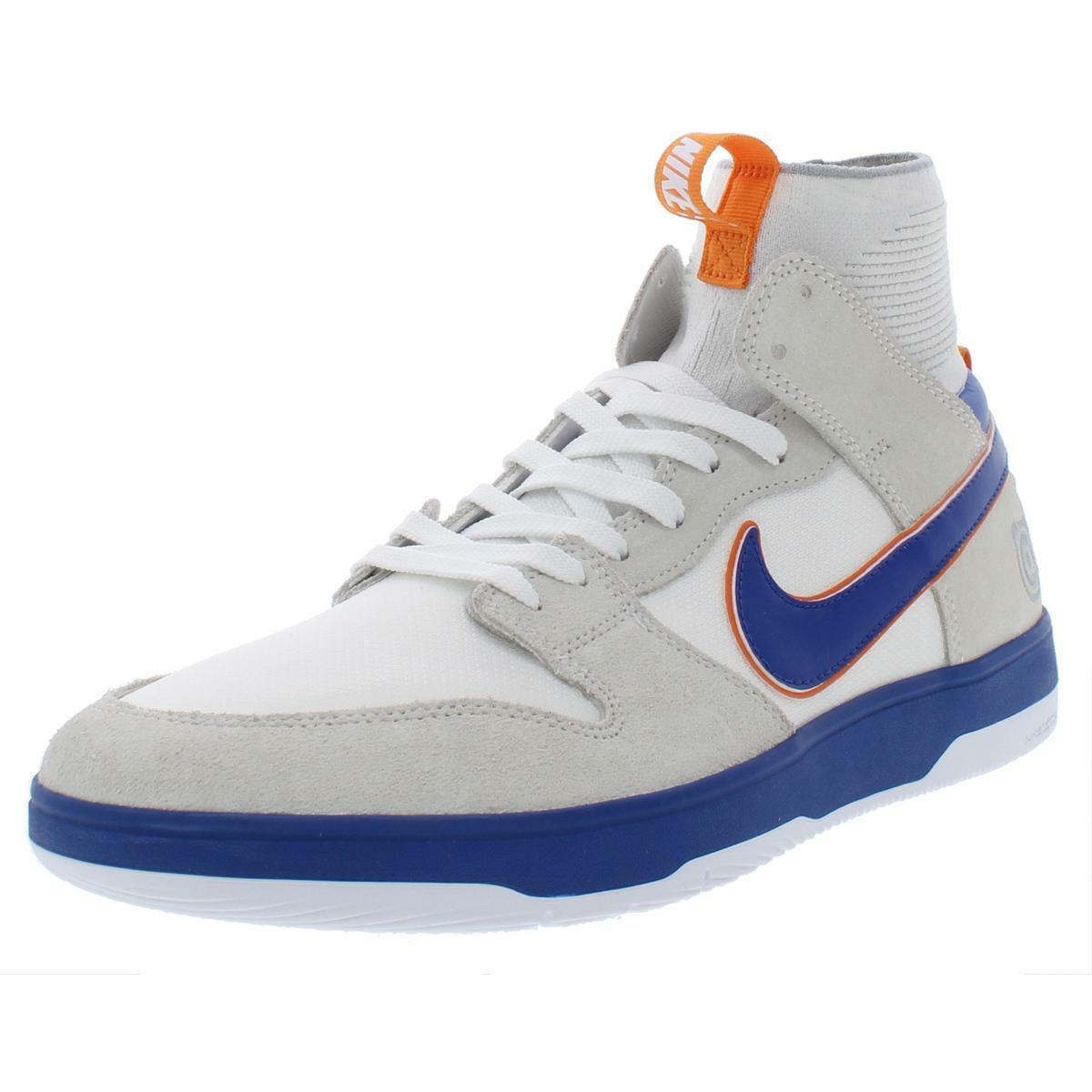 Nike SB Mens Zoom Dunk High Elite White Basketball shoes 11 Medium (D) BHFO 3728