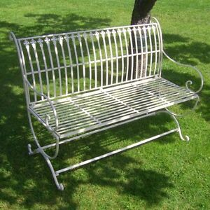 Image Is Loading Garden Bench Antique Nostalgia Country Style New Garden