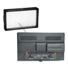 LED312AS Bi-color Light 6580Lux +2x Batteries for Photo Video Interview Camera