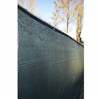 Aleko 6' X 25' Fence Privacy Screen Windscreen Shade Cover Mesh Fabric, Dark Gre on sale