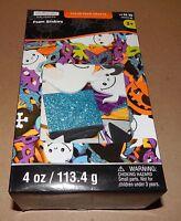 Halloween Foam Stickers Creatology 4oz Value Pack 2 X1 1/2 Glitter Ghosts 117r