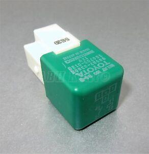 155-Toyota-Lexus-4-Pin-Green-Cooler-Fan-Relay-90987-03003-Denso-156700-0130-B4-5
