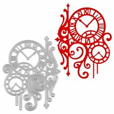 Clock Metal Cutting Dies Stencil Scrapbook Album Paper Card Embossing Craft