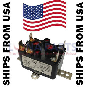 Details about 90-370 90-370Q Heavy-Duty Enclosed Fan Relay 24V SPDT on