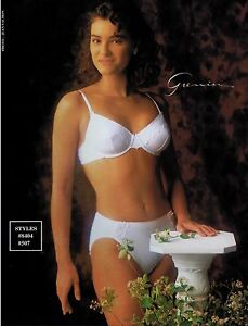 f2ba842f47857 1992 GRENIER Sexy Woman Lace Bra   Panty   Magazine Print AD