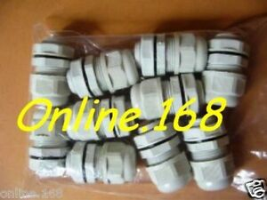 Nylon-Cable-Glands-M-MG12-M-MG20-IP68-Electrical-Wire-Connectors-BLK-GREY