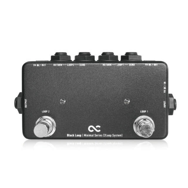 One Control Black Loop 2-Channel Looper Bypass Switcher Guitar Effects Pedal