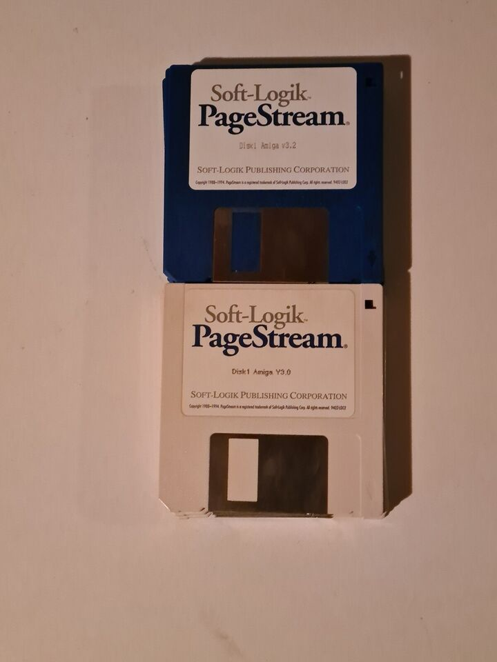 Kæmpe DTP pakke til Amiga
