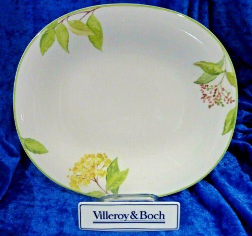 V/&B  Villeroy /& Boch Green Garland Speiseteller oval 29 cm x 25,5 cm