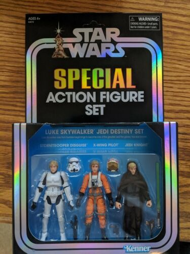 Hasbro Star Wars Luke Skywalker Jedi Destiny Set Special Action Figure SDCC 2019