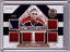 BILL-RANFORD-17-18-Leaf-Masked-Men-Goalie-Gear-6X-Patch-Jersey-11-15-SP-Card