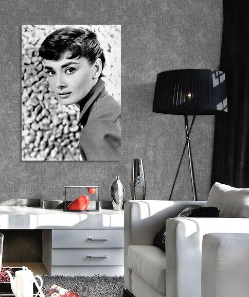 3D Elegant Hepburn 46 Fototapeten Wandbild BildTapete Familie AJSTORE DE Lemon