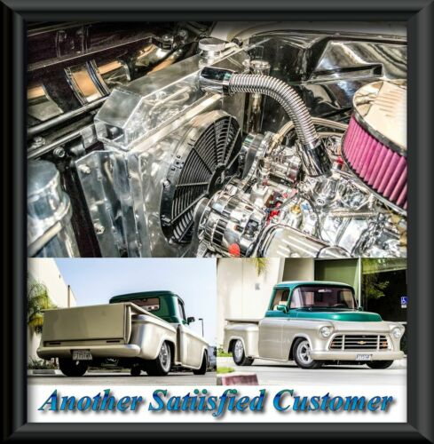 1955 1956 1957 1958 1959 Chevrolet Apache Truck 2 Row DR Champion Radiator