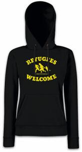 capuche démo la accueillent réfugiés Les femmes pour à wCq1PXHx
