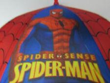 Umbrella Marvel Spiderman Red Black Blue Marvel 3D Figure Handle Kids New Gift