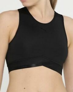 2d562199 Details about Puma Womens Soft Sports Crop Top In Black, Size:MEDIUM