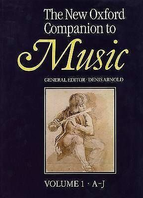 (Good)-The New Oxford Companion to Music 2 Vol Set (Hardcover)--0193113163