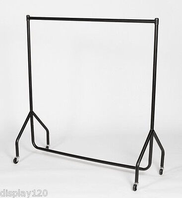 6ft Heavy Duty Clothes Rail Hanging Garment Rack STEEL