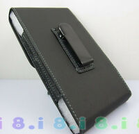 Pu Leather Black Pouch Belt Clip Case Holster for Apple iphone 6 Plus 5.5 inch