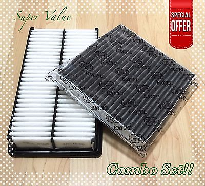 COMBO SET Engine/&Carbonized Cabin Air Filter For CX-7 Mazdaspeed Mazda6 turbo!!