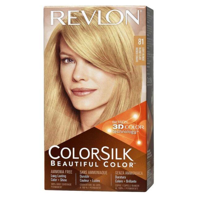 Revlon Colorsilk Beautiful Color 81 Light Blonde1 Kit