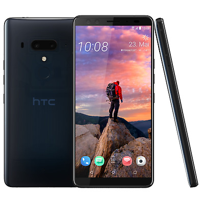 HTC U12+ Dual-SIM translucent blue Dual-SIM Android 8 Smartphone