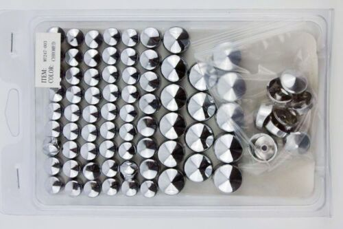 Chrome Bolts Toppers Caps For 1991-2013 Harley Davidson Dyna Glide Twin Cam