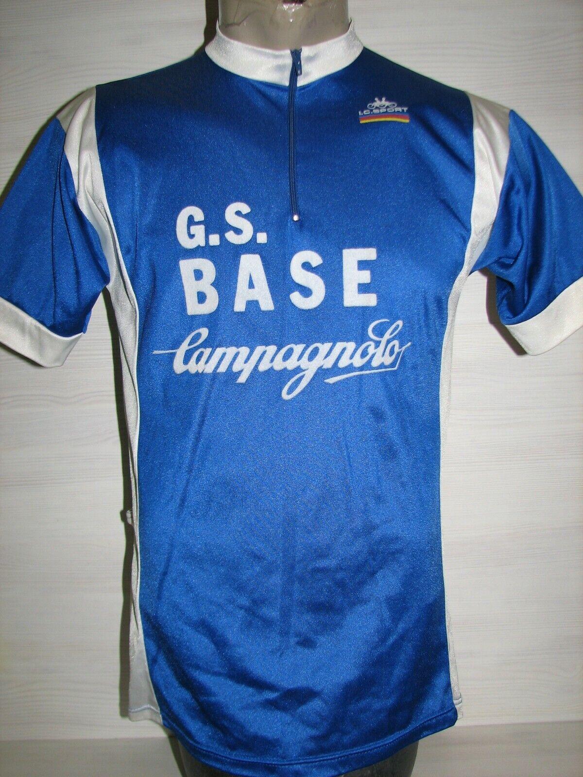 Camisa De Ciclismo Bicicleta CAMPAGNOLO G.S. base Vintage años 70 I.C. Sport