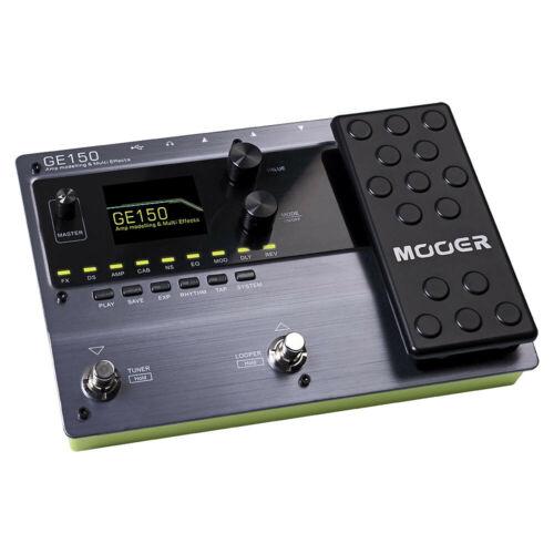 Mooer GE150 Amp Modeller /& Multi Effects Guitar Effects Pedal w 80 Second Looper