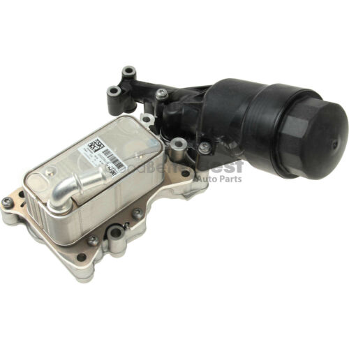 One New Genuine Engine Oil Filter Housing 6511801310 for Mercedes MB