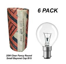 SBC B15 Lamps 4x 15W Opal Incandescent Dimmable Chandelier Candle Light Bulbs