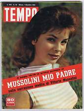 TEMPO N. 48, 1955 – Silvana MANGANO, RASCEL,GAETANO GIARDINO, MUSSOLINI, BRANDO