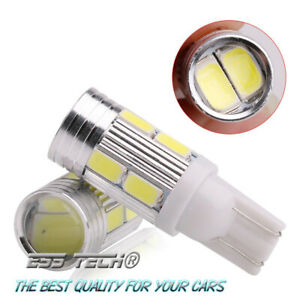 Ampoule-LED-T10-W5W-12V-Blanc-6000K-2600LM-ESS-TECH-10-SMD-5630-Support-Alu