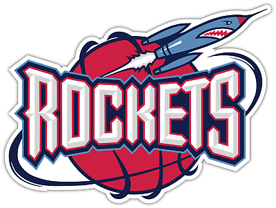 Houston Rockets Retro Old Logo Basketball NBA Vinyl ...