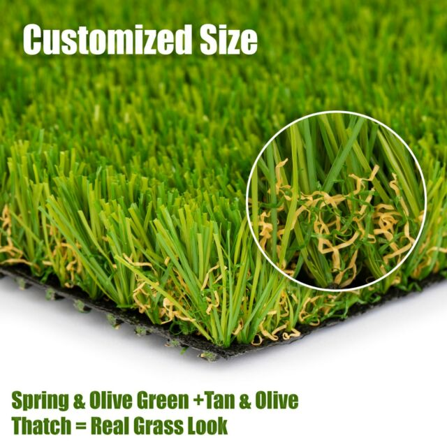 Best Choice Products Premium Realistic 4 Tone Artificial Grass Turf Indoor For Sale Online Ebay