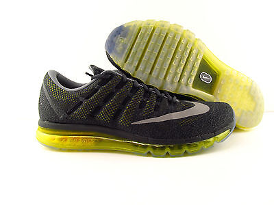 Nike Air Max 2016 Anthracite Reflect Silver Yellow Running New US_6.5 Eur 39   eBay