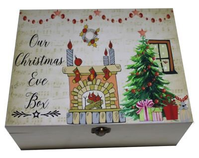Christmas Eve Box, Personalised Christmas Box Sticker, Digital Print Sticker Diy