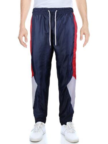 LR Men/'s Retro Urban Lightweight Athletic Casual Striped Gym Track Sweat Pants