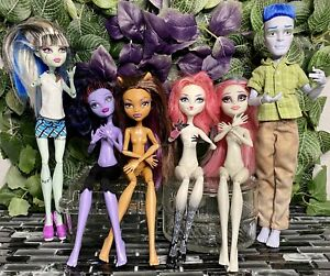 Lot-6-Monster-High-Dolls-OOAK