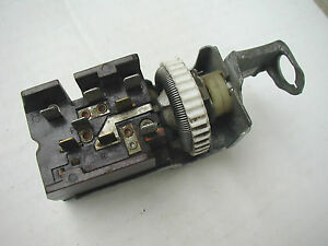 Vintage Used Original 65 66 Ford Falcon Mustang Headlight Switch C5zb 11652 A1 Ebay