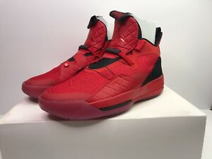 Nike-Air-Jordan-XXXIII-University-Noir-Rouge-UK-12-EU-47-5-AQ8830-600