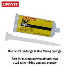Loctite Ea Hysol 608 Fast Set 5 Min Clear General Purpose Epoxy 50ml Cartridge