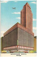 Morrison Hotel in Chicago IL Postcard