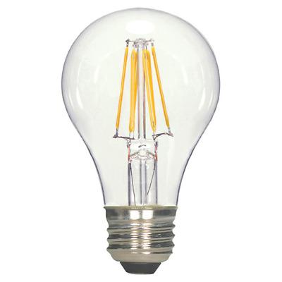 SATCO S9580 4.5W T10 Medium E26 Base 2700K Energy Savings LED Light Bulb Clear