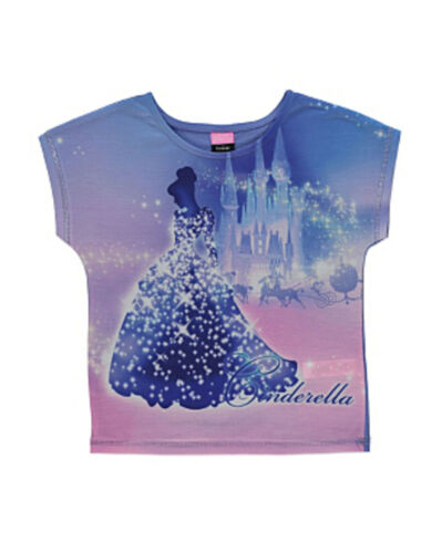 Angleterre Disney Cendrillon t-shirt t 122-128-134-140-146 NEUF