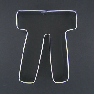 image is loading 4 25 034 pi greek letter cookie cutter