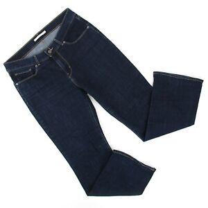 Levis Womens Classic Boot Cut Jeans Sz 10S Short (32 x 29.5) Dark Wash Denim