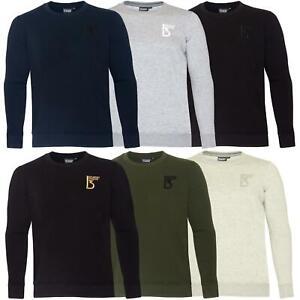 Mens Sweatshirt Plain Fleece Sweat Top Pullover Crew Neck Jumper Work Jersey