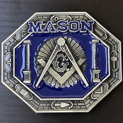 Masonic Western Style Buckle
